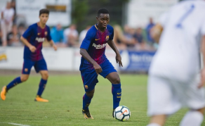 Gambian Star Manneh Leaves FC Barcelona