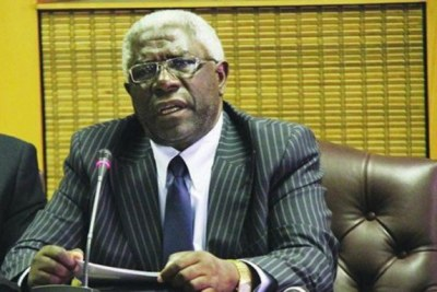 University of Zimbabwe Vice Chancellor Professor Levi Nyagura (file photo).