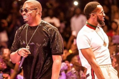 Don Jazzy and D'Banj.
