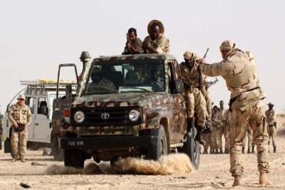 Des soldats de la force spéciale Airborne