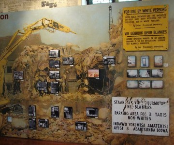 Artefacts of South Africa's Apartheid Years