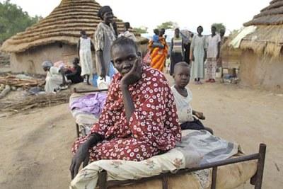 Un réfugié à Abyei.