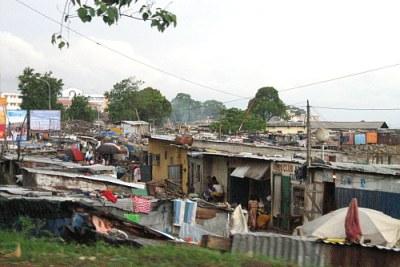 A seaside slum in Conakry.