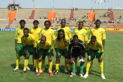 National Zimbabwean football team (file photo).