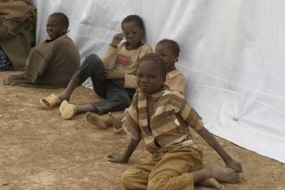 (archives) Les réfugiés du camp de Maltam au nord du Cameroun se plaignent d'avoir froid.