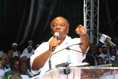 Gabon, Ali Bongo Ondimba candidat du Parti Démocratique Gabonais (PDG).