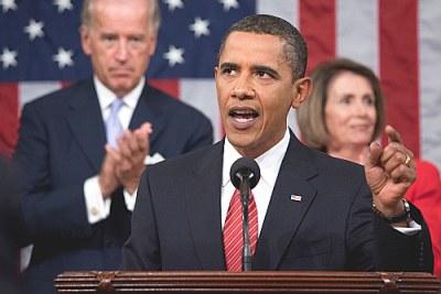 Président Barack Obama.