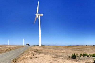 Wind farming.