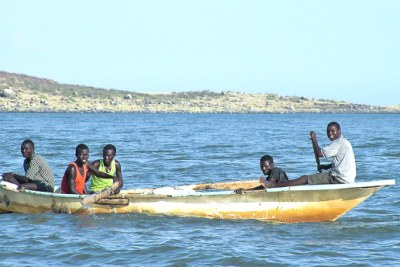 Lake Turkana fishermen.