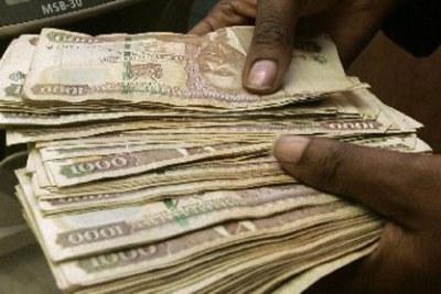 Kenyan shillings.