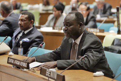 François Bozizé, former president of the Central African Republic (file photo).