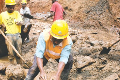 Road construction works (file photo).