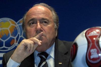 Le president de la Fifa, Sepp Blatter.