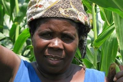 A small scale farmer.