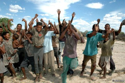 Kalahari San: The ruling means that the community can finally use a vital well.