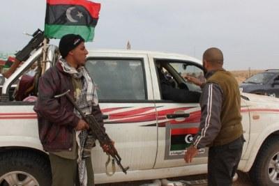 Un checkpoint stratégique près de la capitale  du pétrole.