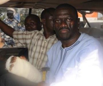Arrest of  Ugandan Opposition Leader