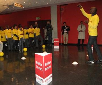Michelle Obama and Archbishop Emeritus Desmond Tutu Visit Children at the Cape Town Stadium - Part 2