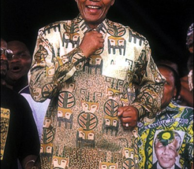 Nelson Mandela, l'Icône