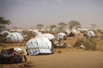 Le camp de réfugiés de Dadaab.