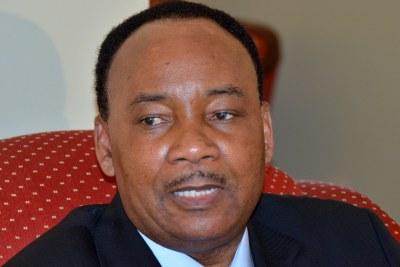 Niger's President Mahamadou Issoufou.