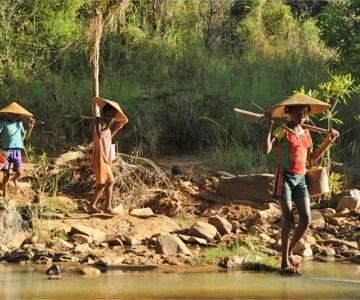 Gold Panning Girls of Madagascar