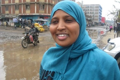 Fatumo Farah in Eastligh, Nairobi