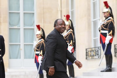 President Ali Bongo Ondimba (file photo).