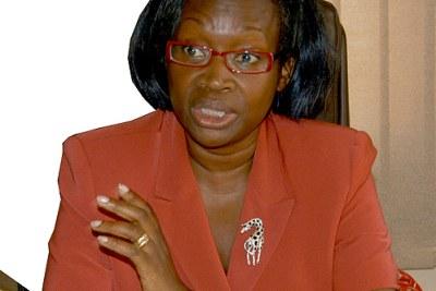 Finance Minister Maria Kiwanuka.