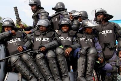 POLICE CONGOLAISE (Rdc)