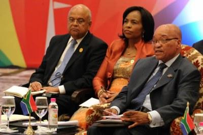 Le Président Zuma au Sommet des pays membres des BRIC