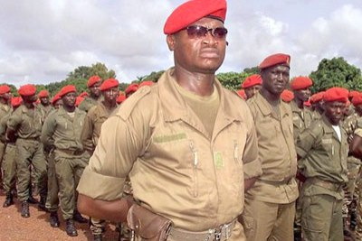 Bissau Guinean army (file photo).