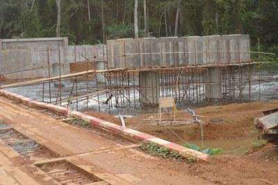 Barrage hydroélectrique de Memve'ele: Les travaux d'aménagement de la voie d'accès au site piétinent
