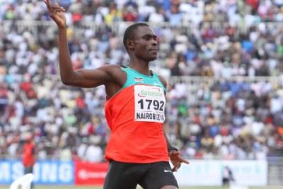 Kenya's David Rudisha.