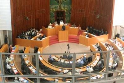 Une séance à l'Assemblée Nationale