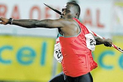 Kenyan Javelin Thrower Julius Yego.