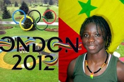 Hortense Diédhiou porte drapeau du Sénégal aux JO de Londres