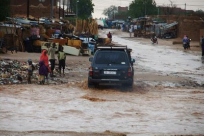 A Kouri (Agadez), comme la plupart des localités du Niger, les eaux de pluie ont causé beaucoup de dégâts.