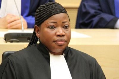 Le Procureur de la Cour pénale internationale (CPI), Fatou Bensouda.