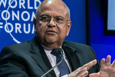 Pravin Gordhan, Minister of Finance until last year's election, has been given his job back.