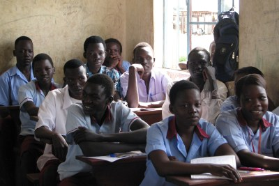A government school on the outskirts of Juba, South Sudan.