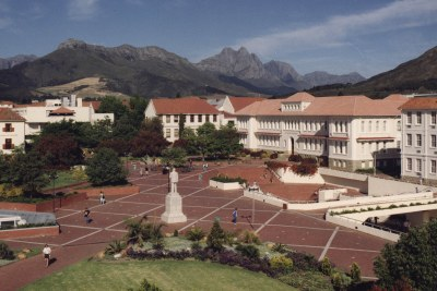 Stellenbosch University campus (file photo).