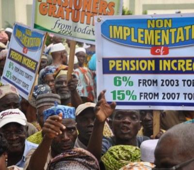 Nigeria Union of Pensioners Protest