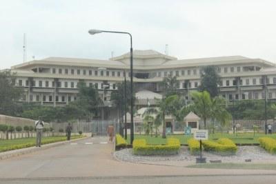 UN compound in Abuja (file photo).