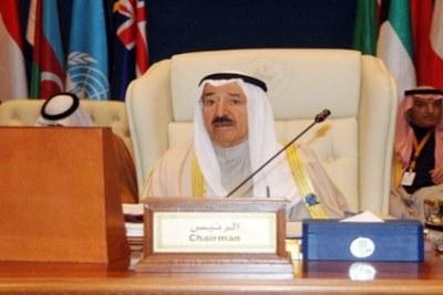 L'Émir du Koweït, Sheikh Sabah Al-Amad Al Jaber Al Sabah
