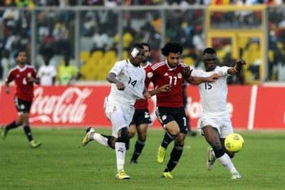 Le Ghana prend le dessus sur l'Égypte (2-1) sur la route de la Coupe du Monde Brésil 2014