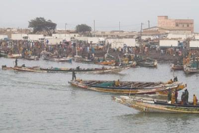 Village de pêcheurs Guett Ndar à Saint-Louis du Sénégal