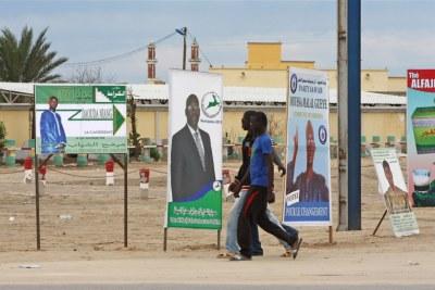 Campagne électorale à Nouakchott