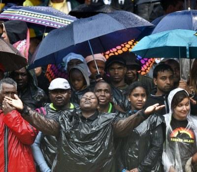Cérémonie en hommage à Nelson Mandela