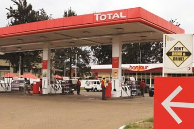 Total Kenya: Fuel prices go up again second month is a row (file photo).